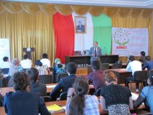 Региональный семинар/волонтерства, Куляб 2014