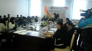 Обзора Нацпрограммы молодежи по рез. 2013г., Душанбе 2014